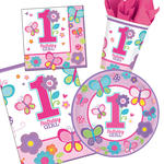NEU Party-Set-Basic f�r 16 G�ste 1.Birthday-Girl
