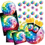 NEU Party-Set-Premium f�r 8 G�ste Disco-Fever