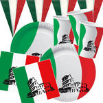 NEU Party-Set-Basic f�r 20 G�ste Italien