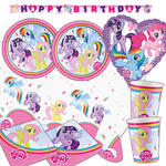Party-Set-Premium für 16 Gäste My Little Pony