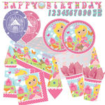 Party-Set-Premium 8 Gäste Kleine Prinzessin