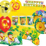 NEU Party-Set-Premium f�r 8 G�ste Jungle Party