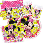 Party-Set-Basic für 8 Gäste Minnie Mouse