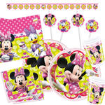 NEU Party-Set-Premium f�r 16 G�ste Minnie Mouse