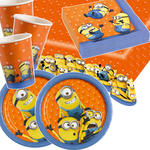 NEU Party-Set-Basic für 8 Gäste Minions