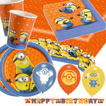 NEU Party-Set-Premium f�r 8 G�ste Minions