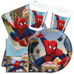 Party-Set-Basic für 8 Gäste Spiderman