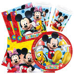 Party-Set-Basic für 16 Gäste Playful Mickey