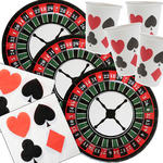 NEU Party-Set-Basic für 20 Gäste Poker