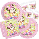 Party-Set-Kids für 8 Gäste Baby Minnie