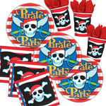 NEU Party-Set-Jungen f�r 8 G�ste Pirat
