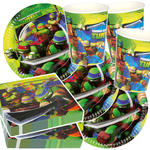 NEU Party-Set-Jungen f�r 8 G�ste Ninja Turtles