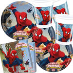 NEU Party-Set-Jungen f�r 16 G�ste Spiderman
