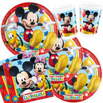 NEU Party-Set-Jungen f�r 16 G�ste Playful Mickey