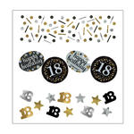 Konfetti Happy Birthday Sparkling 18, 34 g