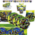 Party-Set Ninja Turtles, 62 tlg.