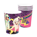 Becher 80er Party, 25ml, 6 St�ck