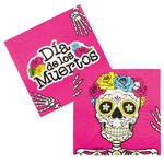 NEU Servietten Day of the Dead, 12 Stk., 33x33 cm