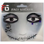 Face-Sticker Klebetattoo Pirat