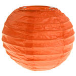 Lampion S, Ø 10 cm, orange, 2 Stück