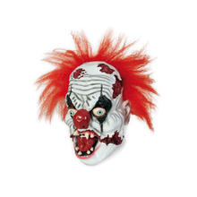 Maske Horror-Clown, aus Latex