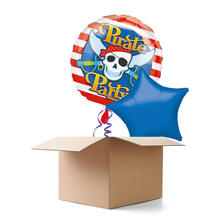 Ballongr�sse H-Birthday, Piraten Party, 2 Ballons