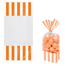Beutel Candy orange, 23,8x24,8cm, 10 Stk.