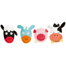 NEU Masken Farm Fun, 8 St�ck