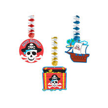 SALE Girlande Pirate Party spiralförmig, 76,2 cm