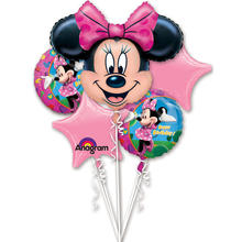 SALE Folienballon Minnie Mouse Birthday Bouquet