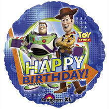 SALE Folienballon Toy Story  Happy B.day, 45 cm