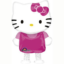 Folienballon Hello Kitty Airwalker, 39x59 cm