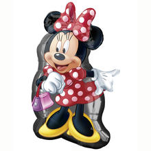Folienballon Minnie Full Body, 48x81 cm