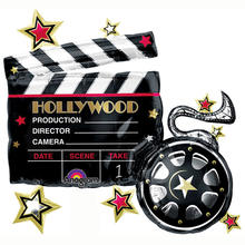 Folienballon Hollywood Clapboard, 76x73 cm
