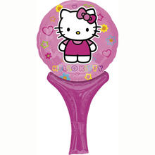 Folienballon Hello Kitty, 15x30 cm