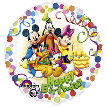 Folienballon Mickey & Friends Party, 45 cm