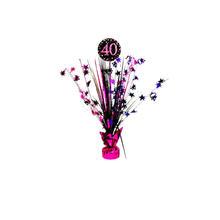 Dekoration 40. Geburtstag