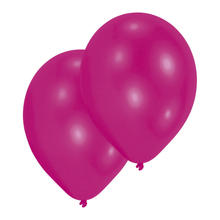 Luftballon Premium Hot Pink, 10er Pack
