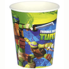 Becher Ninja Turtles 8 Stk. 266 ml