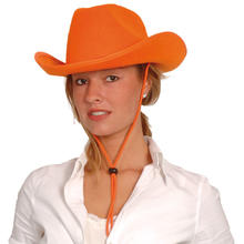 Hut Cowboy Classic Color aus Filz, orange