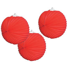 SPARPACK! Lampions rot, � 23cm, 24 St�ck