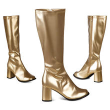 Stiefel Retro, gold Gr. 41