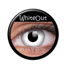 Kontaktlinsen White Out / wei�