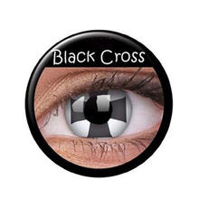 SALE Kontaktlinsen Black Cross