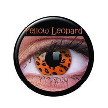 SALE Kontaktlinsen Yellow Leopard