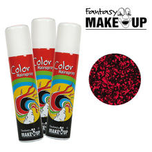 Glitter-Haar-Spray, 75ml, Glitter-Rot