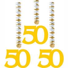 50. Geburtstagsdekoration