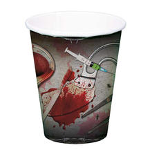 Becher Bloody Halloween, 8 Stk, 250 ml