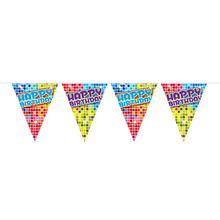 Mini-Wimpelkette Birthday Blocks, 3 m