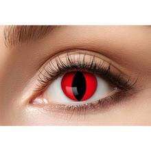 Farbige Kontaktlinsen Halloween